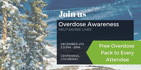 Overdose Awareness - Help Save Lives tickets
