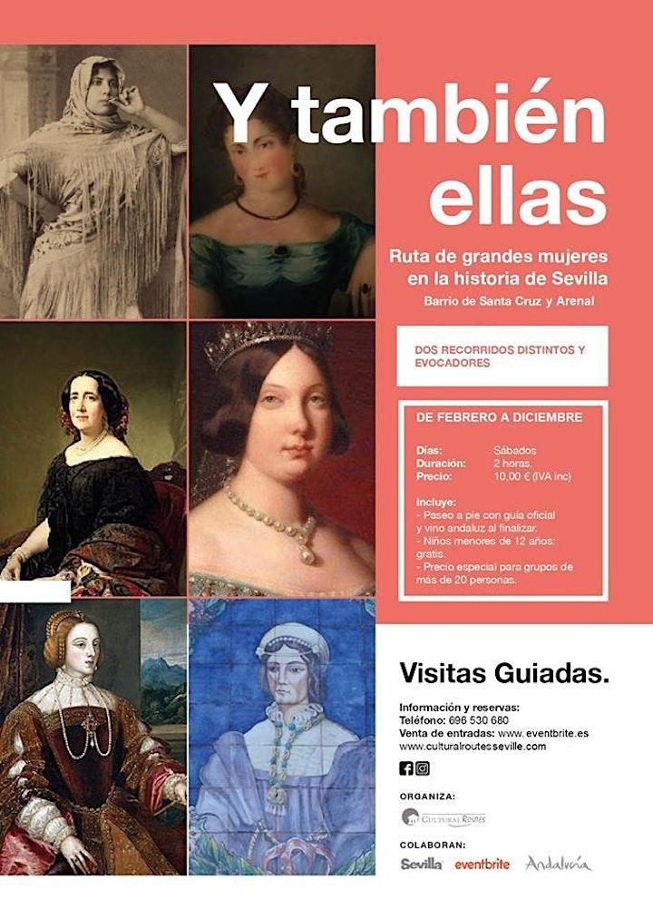 """Imagen de Ruta: """"Grandes mujeres en la historia de Sevilla"""" II: Arenal y Santa Cruz"""