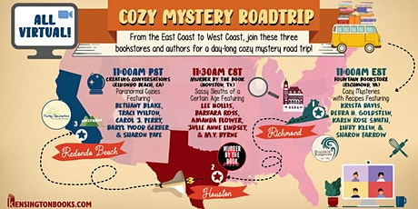 COZY Mystery Event: Recipes Included! tickets