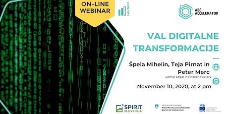 Val digitalne transformacije tickets