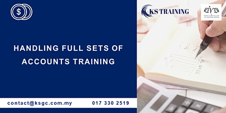 4 Days Handling Full Sets of Account Training [HRDF Claimable] tickets