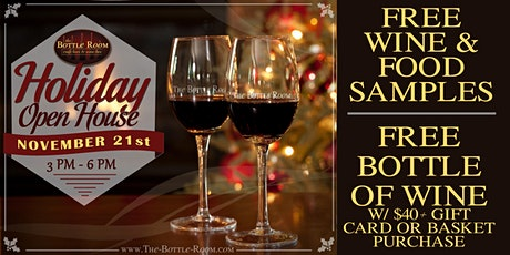 The Bottle Room 2020 Holiday Open House - FREE WINE!!! tickets