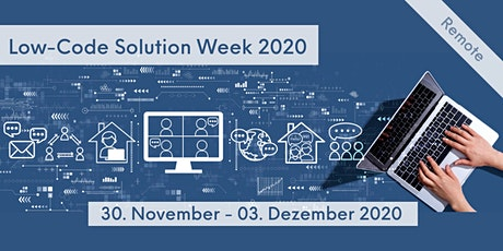 Low-Code Solution Week 2020 Tickets