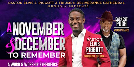 November & December 2 Remember tickets