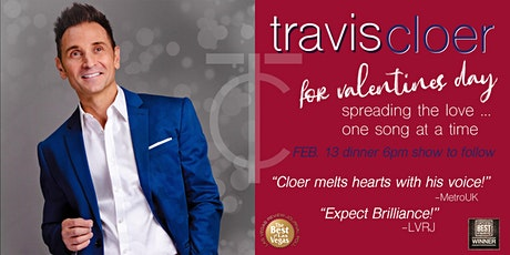 Travis Cloer for Valentine's Day - Live in concert tickets