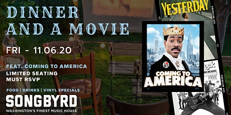 Dinner and a Movie Feat. Coming to America tickets