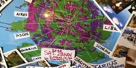 Sagittarius 2020 River Thames London Wheel of Life Pilgrimage tickets