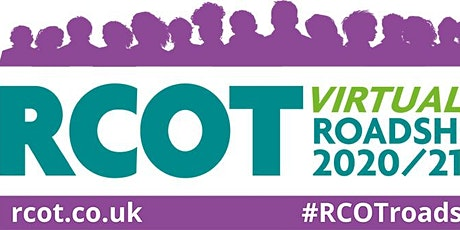 RCOT Roadshow 2020/21 and London Region CPD session. tickets