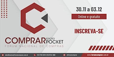 [COMPRAR] Fórum Nacional de Compras - Edição Pocket ingressos