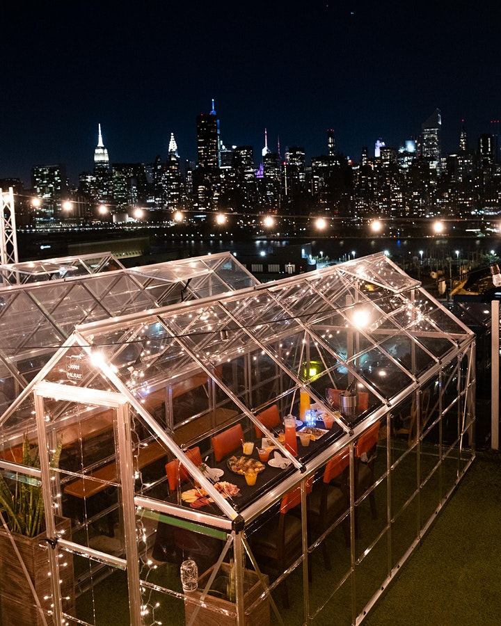 "ALL FRIDAYS: VIP ""SKY SUITES""  @ SAVANNA ROOFTOP w/NYC SKYLINE VIEWS image"