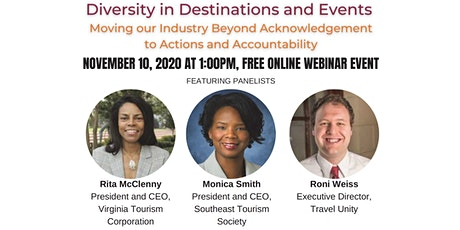 Diversity In Destination and Events tickets