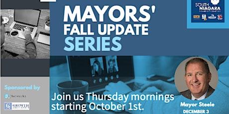 Mayors' Fall Update Series - Mayor Steele tickets
