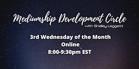 Mediumship Development Circle - 3rd Wednesday/month tickets
