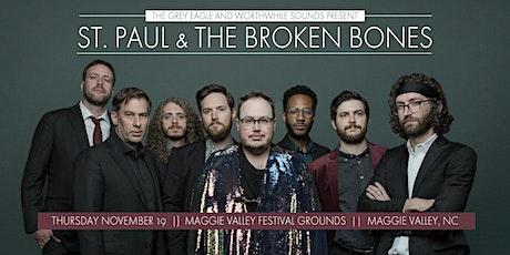 St Paul & The Broken Bones: Drive-In Concert in Maggie Valley, NC tickets