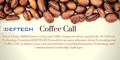 DEFTECH Coffee Call tickets