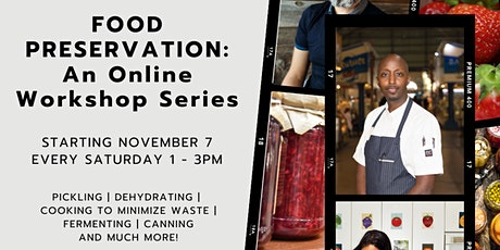 Food Preservation: Pickling & Fermenting tickets