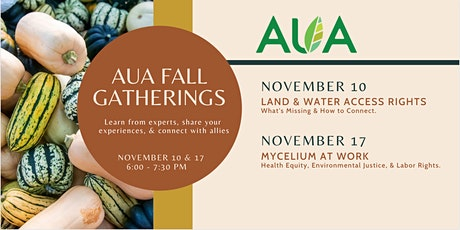 AUA Fall Gatherings tickets