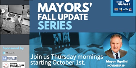 Mayors' Fall Update Series - Mayor Ugulini tickets
