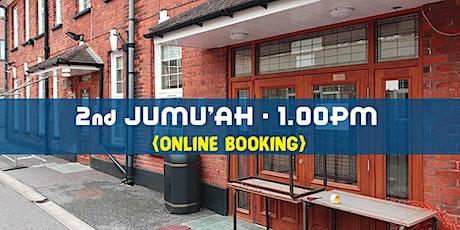 2nd Jumu'ah Prayer|1:00PM |30th October| English| Hafiz Khalid Siraj tickets