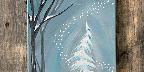 Live Virtual PAINT NITE - Playful Snow tickets