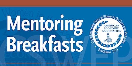 CSWEP 2021 Mentoring Breakfast for Junior Economists -1/4/2021 tickets
