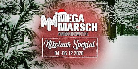 Megamarsch #WIRGEHENWEITER Nikolaus Spezial biglietti