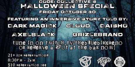 Code:Collective Halloween Special tickets