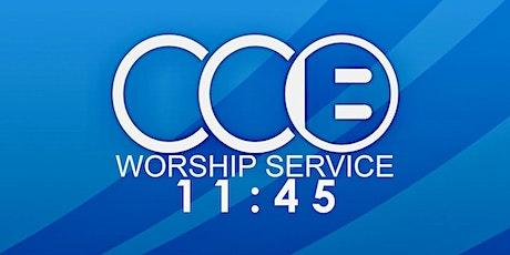 11:45 Worship Service tickets