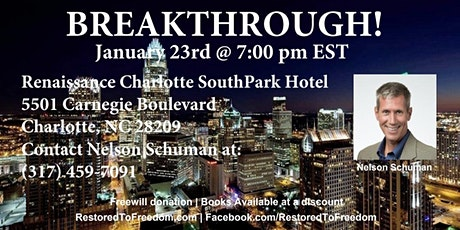 Breakthrough in Charlotte, NC tickets