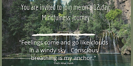 The 12 days of Mindfulness Journey tickets