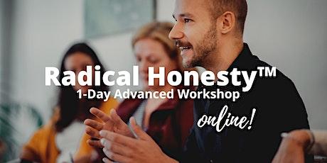 Radical Honesty ™ Advanced 1-Day Online Workshop | with Marvin Schulz tickets