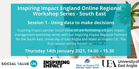 Inspiring Impact VCSE Management Workshop Series: #1 Using impact data tickets