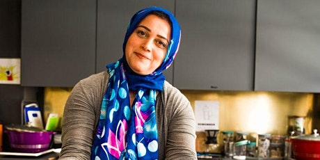 Vegetarian Iranian cookery class with Elahe tickets