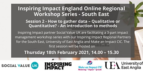 Inspiring Impact VCSE Management Workshop Series: #2 How to gather data tickets