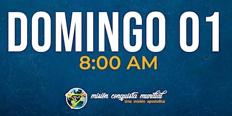 HACEDORES DE LO IMPOSIBLE 8:00 AM boletos