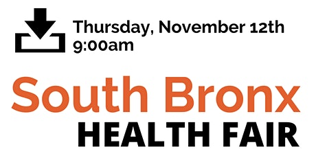 South Bronx Health Fair tickets