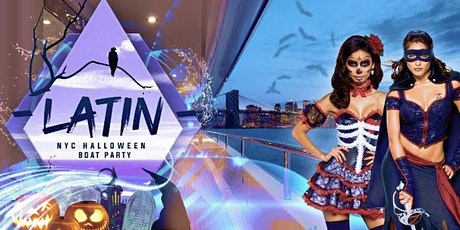 Halloween Friday Latin & Hip Hop NYC Boat Party Yacht Cruise   -Oct 30 tickets