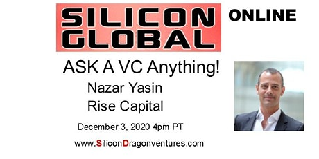 Ask VC Nazar Yasin Anything! tickets