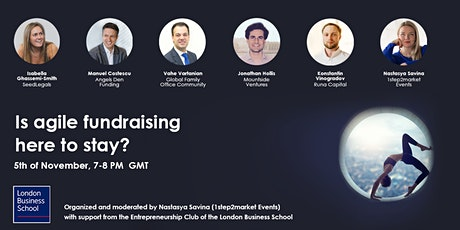 Is agile fundraising here to stay? tickets