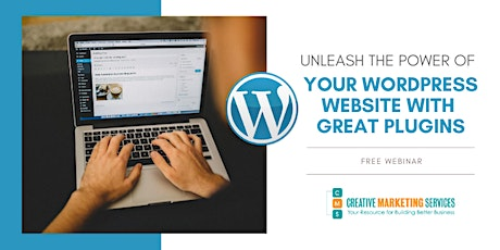 Live Webinar: Unleash the Power of Your WordPress Site with Great Plugins tickets