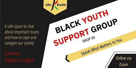 Black Youth Support Group tickets