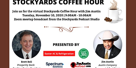 November Virtual Stockyards Coffee Hour tickets