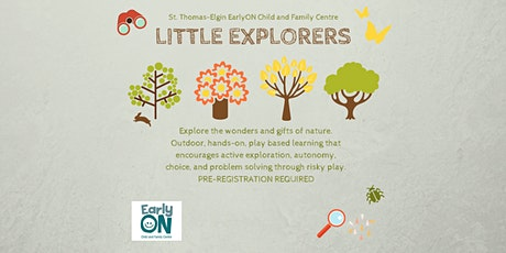 EarlyON Little Explorers (December 1 - Pinafore Park, St. Thomas) tickets