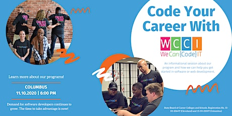 Code Your Career With We Can Code  IT -  Columbus tickets