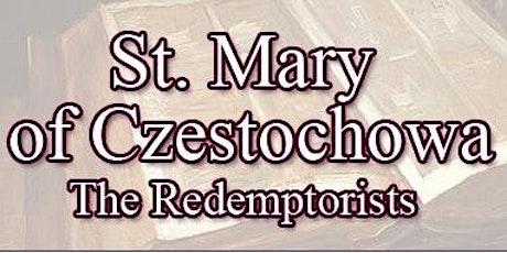 Holy Mass -  @8:30AM - English tickets