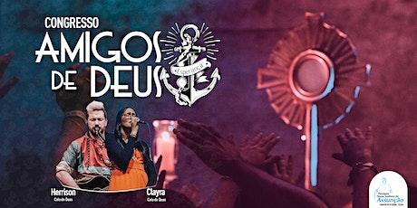 Congresso Amigos de Deus - Esperança - 2020 billets
