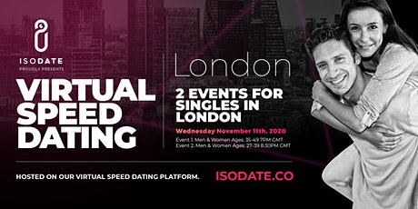 Isodate's London Virtual Speed Dating tickets