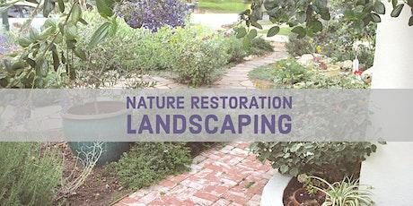 SCHS: Nature Restoration Landscaping tickets