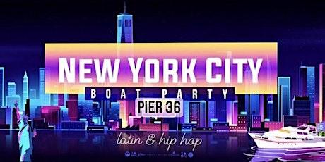 Latin & Hip Hop NYC Boat Party Yacht Cruise  - Saturday Nov 7 tickets