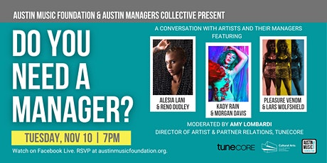 Do You Need a Manager? tickets